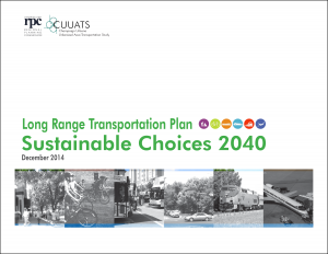 LRTP: Sustainable Choices 2040 cover